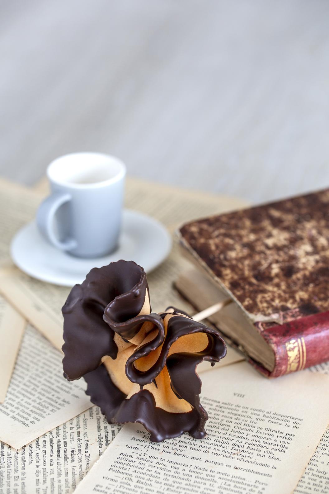 Rosa de xocolata El Rosal. Núria Boleda